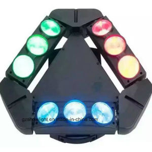 8PCS 3W/10W Mini RGBW 4in1 LED Spider Light pictures & photos