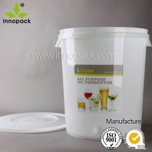 PP 30L Plastic Bucket with Lid Food Grade Plastic Pail pictures & photos
