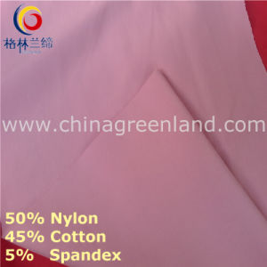 Nylon Cotton Spandex Ponte Roma Knitted Fabric for Textile Garment (GLLML233) pictures & photos