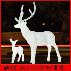 24V 5m High Quality Acrylic Christmas Decoration LED Reindeer Light pictures & photos