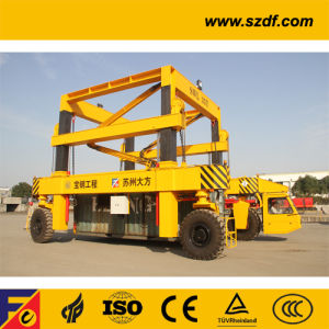Container Shuttle Carrier for Container Depot /Rtg Crane pictures & photos