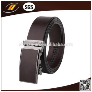 Genuine Leather Mens Alloy Automatic Buckle Waist Belts (HJ3101) pictures & photos