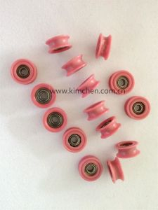 Solid Ceramic Pulley (NT007-2) Grooved Wire Guide Roller pictures & photos