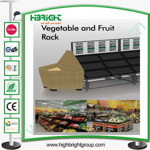 Supermarket Dispay Shelf for Fruits and Vegetables pictures & photos