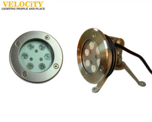 24V Ce Approved RGB Swimming Pool IP68 Stainless Steel LED Underwater Light pictures & photos