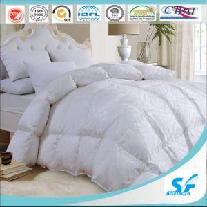 Cotton Silk Jacquard Down Proof Fabric 90% Goose Down Bedding Goose Down Duvet pictures & photos