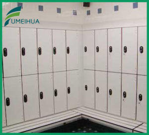 Fumeihua Durable High Pressure Laminate 2 Doors School Locker with Pad Lock pictures & photos
