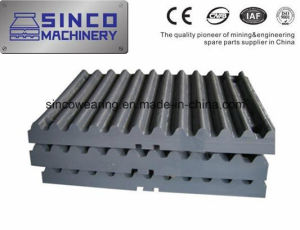 High Quality Casting Steel Crusher Parts Manganese Jaw Plate