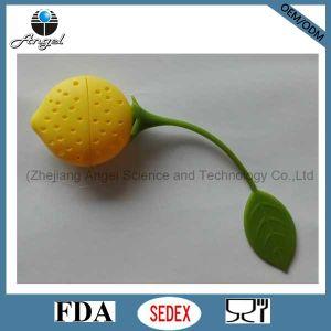 Promotional Lemon Silicone Greentea Bag Holder St04