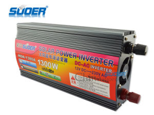 Suoer Solar Power 1300W 12V Power Inverter DC to AC Inverter (MDA-1300A) pictures & photos