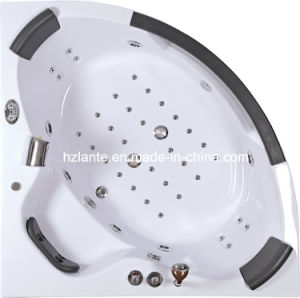 Indoor Fitting Acrylic Whirlpool Massage Bathtub (CDT-004) pictures & photos