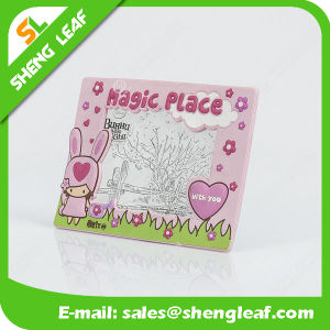 Colorful Soft Rubber Silicone Photo Frame (SLF-PF071) pictures & photos