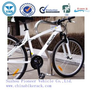 Stainless Steel One Bike Bollard Type Bike Racks pictures & photos