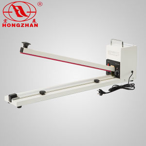 Portable Hand Impulse Sealer for Heat Sealing LDPE HDPE Bag and Laminating Film with Big Transformer and Cutter pictures & photos