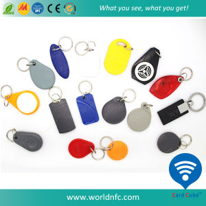 125kHz T5577 Rewritable Waterproof ABS RFID Keyfob pictures & photos