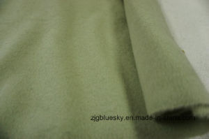 Wool Fabric Green Double Face pictures & photos