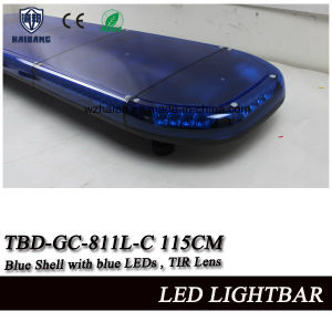 Blue LED Lightbar with Blue Color for Ambulance or Police Car pictures & photos