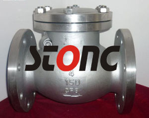 API ANSI Stainless Steel RF 150lb Swing Check Valve pictures & photos