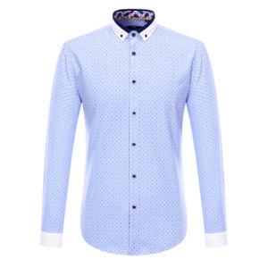 OEM Men Fashion Casual Shirts Plain Formal Cotton Shirt