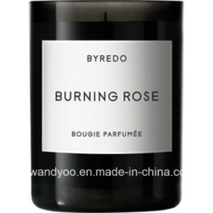 Scented Soy Black Glass Massage Candle with Private Labels pictures & photos