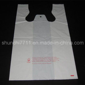 Plastic White Vest Shopping Bag pictures & photos