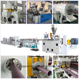 Turnkey Project PVC Water Pipe Extrusion Machine pictures & photos