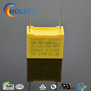 Metallized Polypropylene Yellow Box Film Capacitor (0.22UF 275VAC X2 MKP) /All Series RoHS Reach pictures & photos