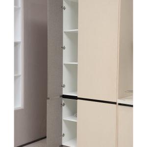 Modular MDF Board Melamine Design Flat Pack Kitchen Cabinets pictures & photos