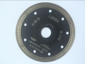 Hot Pressed Continuous Rim Diamond Saw Blade pictures & photos