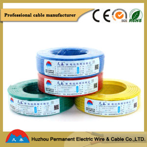 Colored Ningbo Shanghai Port PVC Insulated Single Core Electric Wiring pictures & photos