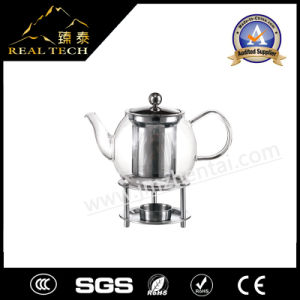 Chinese Borosilicate Glass Teapot with Warmer