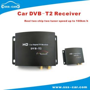 180km/H Russian High Speed Mobile Digital TV Receiver Car DVB-T2 for Digital Freeview