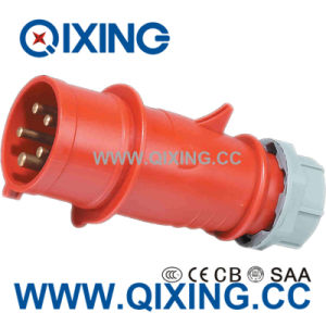 IEC 60309 16A 5p 400V Industrial Plug and Socket Qx3 pictures & photos