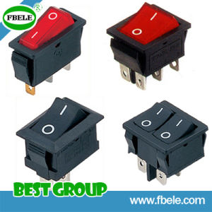 Rocker Switch 20A 250VAC pictures & photos