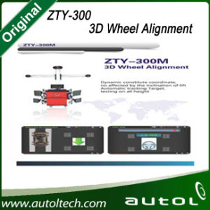 Zty-300m Automatic Tracking Deluxe Edition Instead of X-712 Launch Multilingual 3D Wheel Aligner/Ce Certificate Batter Than X-631 Wheel Aligner pictures & photos