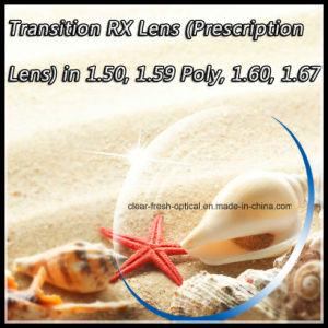 Transition Rx Lens (Prescription Lens) in 1.50, 1.59 Poly, 1.60, 1.67 pictures & photos