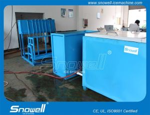 Brine Refrigeration 5tpd Block Ice Machine