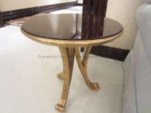 Small Wooden Round Side Table pictures & photos