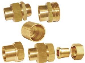 Brass Union Pipe Fitting (a. 0355) pictures & photos