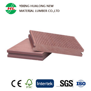 Solid WPC Decking for Outdoor (HLM133) pictures & photos