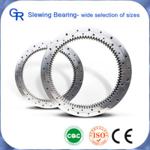 Precision Excavator Spare Parts Cross Roller Slewing Bearing