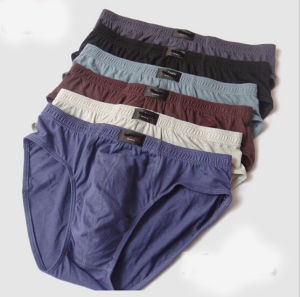Cheap Customize High Quality (Combed Cotton) Personalized Men′s Brief pictures & photos