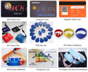 High Quality 13.56MHz S50 ABS Plastic Hf RFID Card pictures & photos