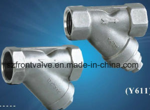 Investment Casting/Precision Casting Stainless Steel Screwed Y-Strainer pictures & photos