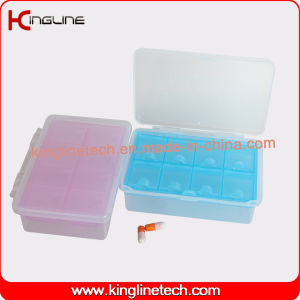 Nice Plastic 8-Cases Pill Box (KL-9118) pictures & photos