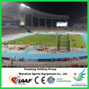 Iaaf Professional Rubber Running Tracks pictures & photos