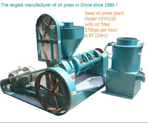 Grain and Oil Processing Equipment/Oil Press Extraction Machine pictures & photos