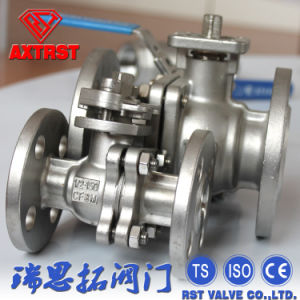2PC Floating API Stainless Steel Ball Valve with ISO5211 Moungting pictures & photos