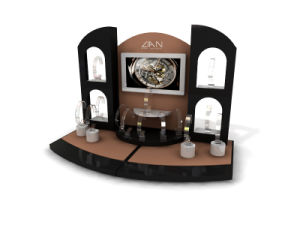 OEM Factory-Making Jewelry Acrylic Wooden MDF Watch Display for Sale pictures & photos