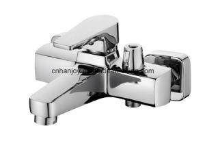 New Model Wall Mounted Single Handle Bathtub Faucet (H02-102) pictures & photos